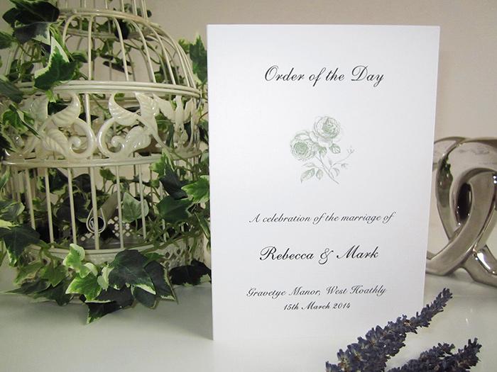 'Rustic Rose' Stack » SJ Wedding Invitations London